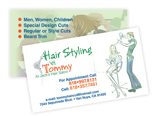 Hair Styling by Tommy