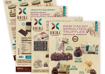 Hnina Chocolates Nuts Sell Sheets