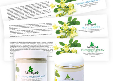 Moringa Vida Plus Labels