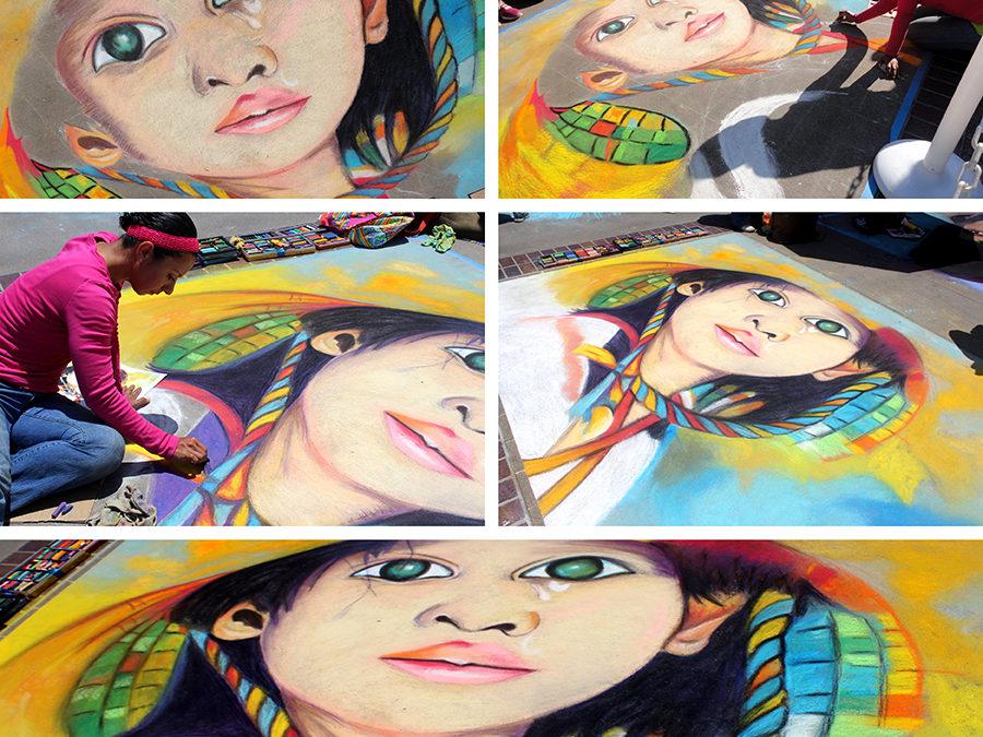 Pasadena Chalk Festival 2013