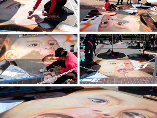 Pasadena Chalk Festival 2014