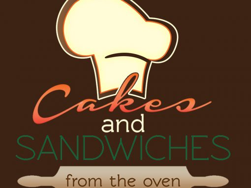 Cakes and Sandwiches from the oven