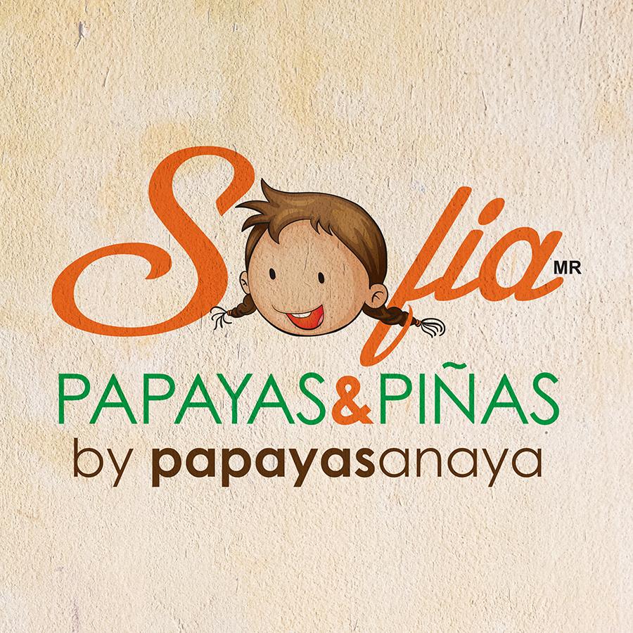 Sofia Papayas & Pinas Logo